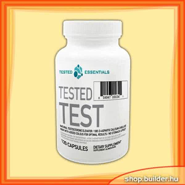 Tested Nutrition Tested Test 120 caps.