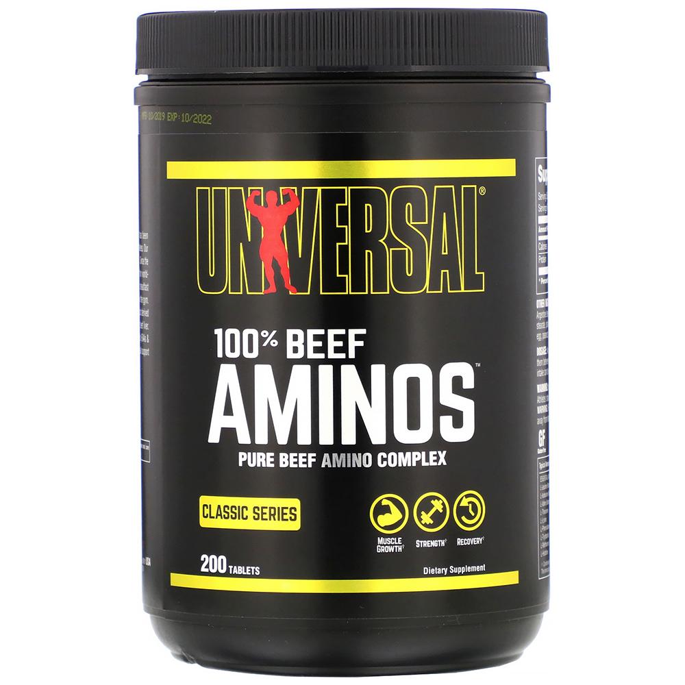 Universal Beef Aminos 200 tab.