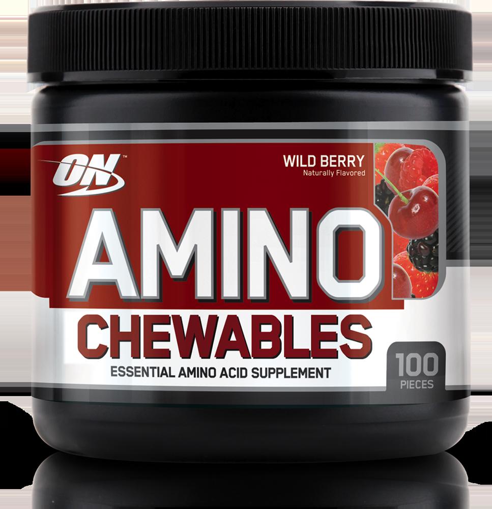 Optimum Nutrition Amino Chewables 100 tabl. de mest.