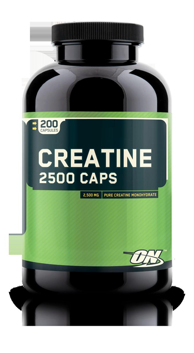 Optimum Nutrition Creatine 2500 Caps 200 caps.