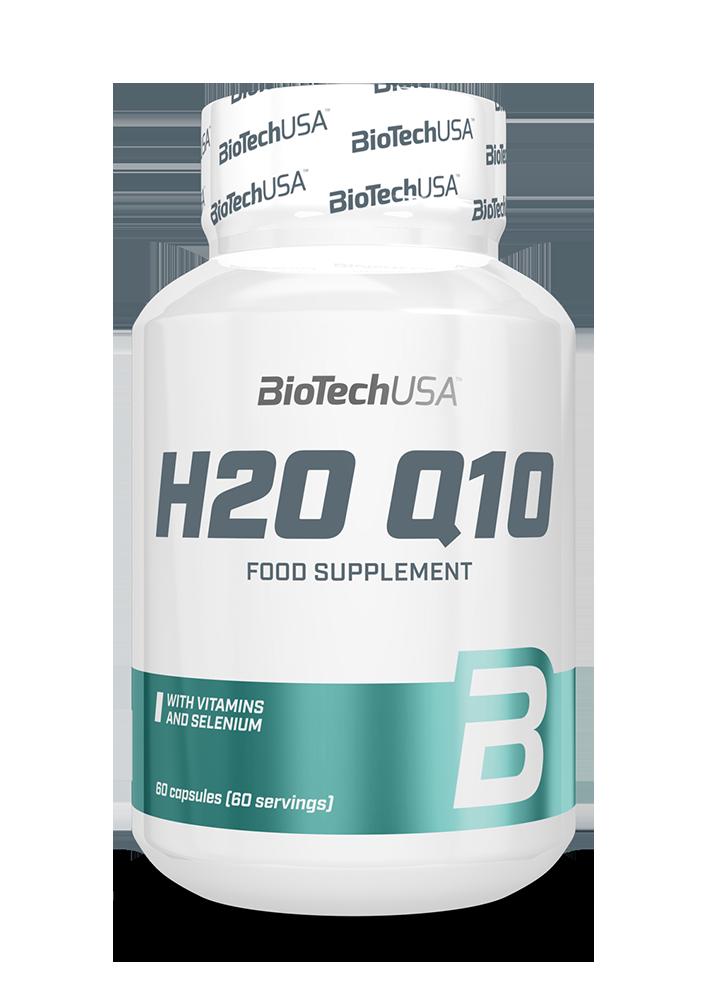 BioTech USA H2O Q10 60 caps.