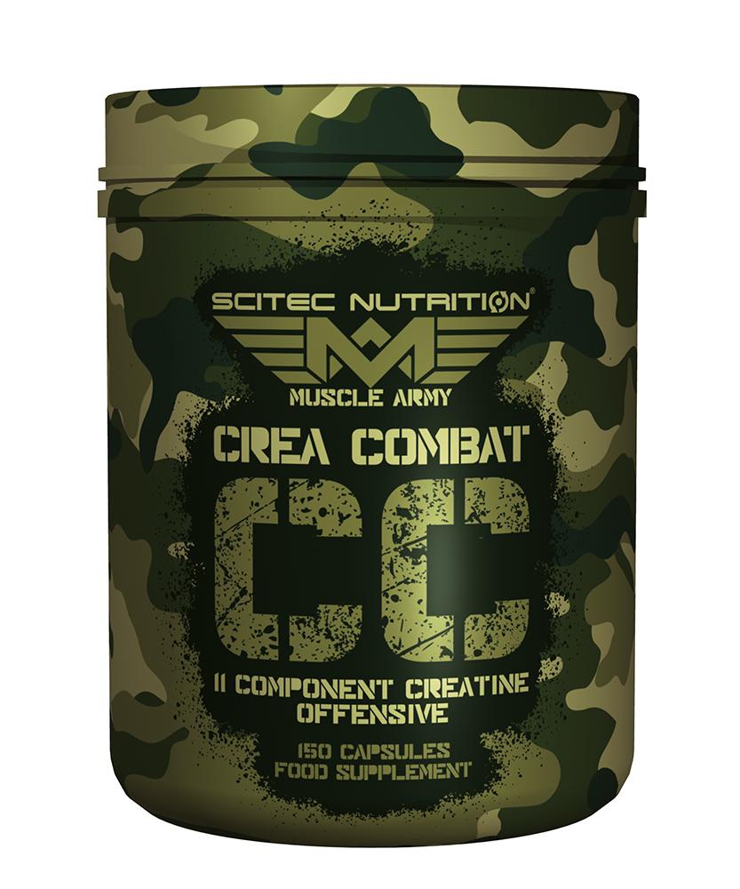 Scitec Nutrition Crea Combat 150 caps.