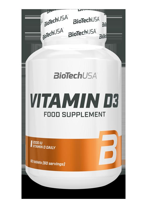BioTech USA Vitamin D3 60 tab.