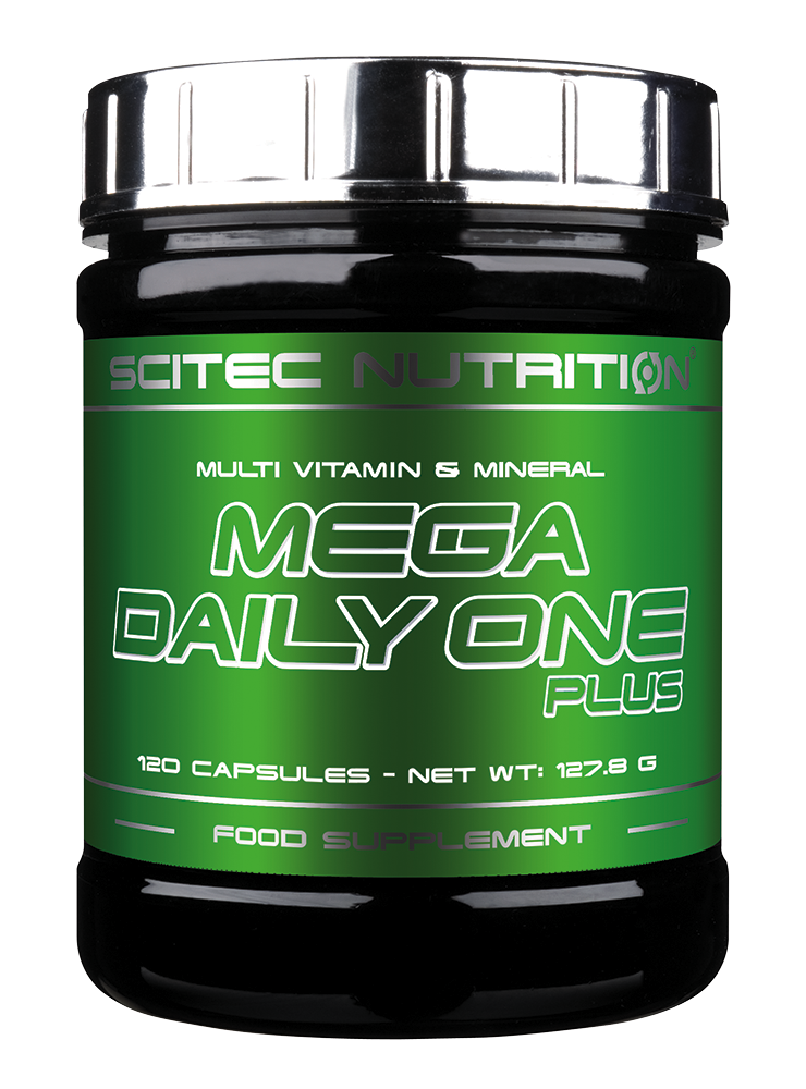 Scitec Nutrition Mega Daily One Plus (120 caps.)